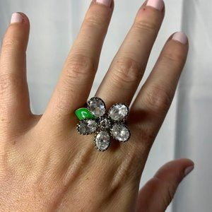 Vintage Juicy Couture Flower ring!